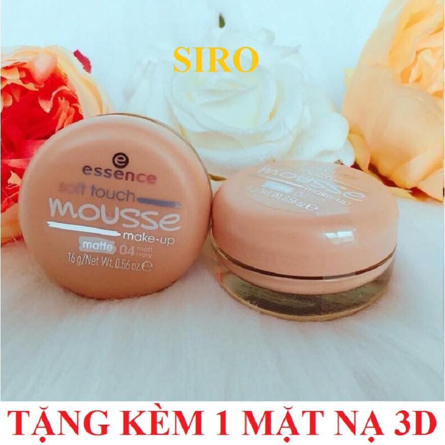 (CHÍNH HÃNG) Phấn tươi Đức Essence Soft Touch Mousse Make-up 16g (Tone 04) + Tặng kèm 1 mặt nạ 3D Fo - 3406539 , 969719982 , 322_969719982 , 150000 , CHINH-HANG-Phan-tuoi-Duc-Essence-Soft-Touch-Mousse-Make-up-16g-Tone-04-Tang-kem-1-mat-na-3D-Fo-322_969719982 , shopee.vn , (CHÍNH HÃNG) Phấn tươi Đức Essence Soft Touch Mousse Make-up 16g (Tone 04) + Tặn
