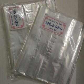 50 tờ bọc sách/bọc vở Mê Kông, Cường Thịnh 24cm x 35cm