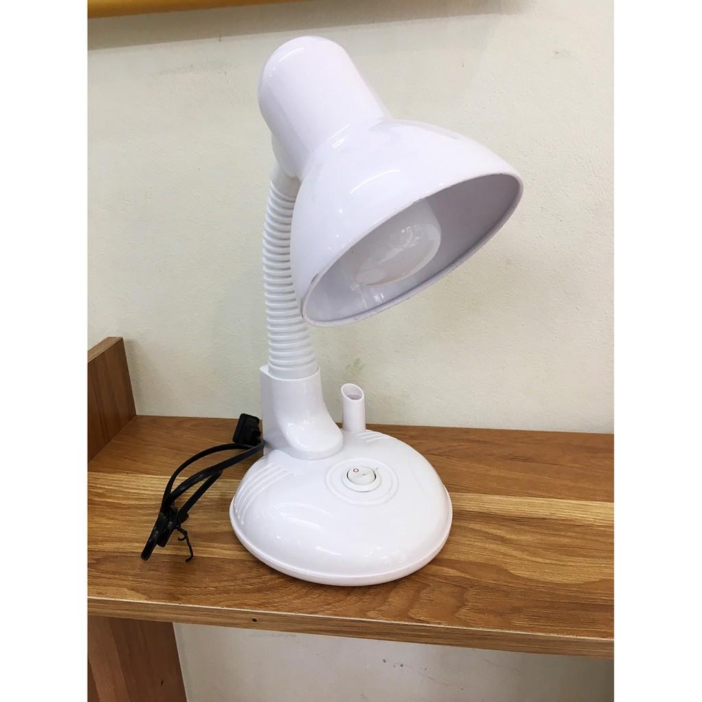 TẶNG BÓNG] Đèn học để bàn học sinh CHỐNG CẬN màu trắng có ống đựng bút cho  bé siêu xinh tại Hà Nội