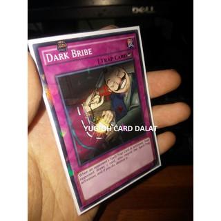 Thẻ bài Yugioh chính hãng Dark Bribe – shatterfoil Agia ngon