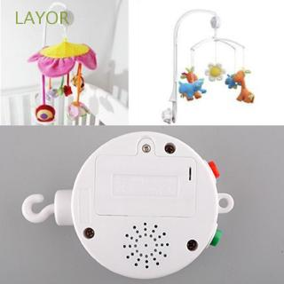 LAYOR Gift Infant Funny Baby Electronic Mobile Crib Bed Bell