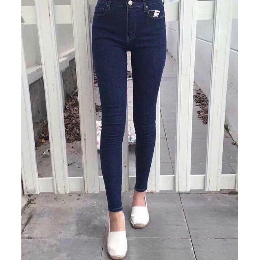 Quần Jeans Xước Đủ Màu