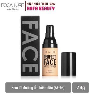 Kem Lót Trang Điểm Kiềm Dầu Focallure Perfect Face Matte Primer 20g _ Focallure Chính Hãng thumbnail