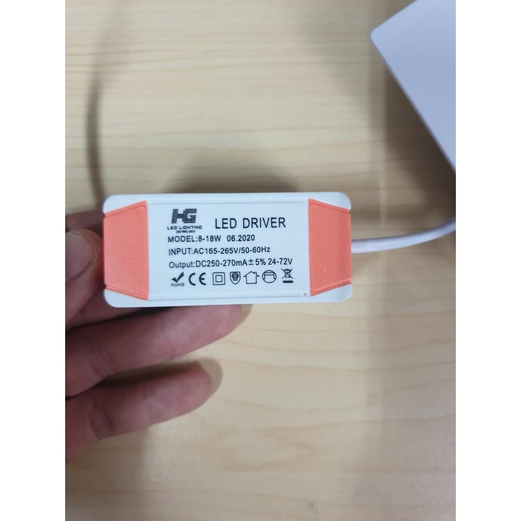 Đèn LED âm trần 12W Vuông Siêu Mỏng