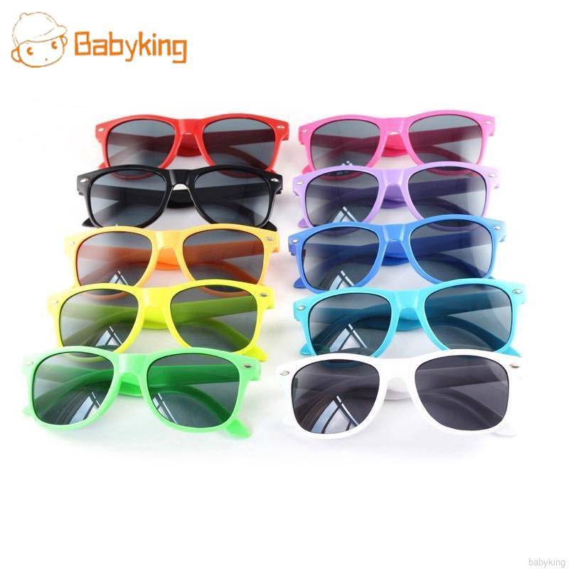 BABYKING Children's Rice Nail Color Sunglasses