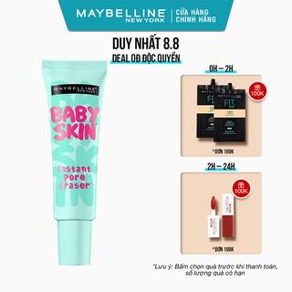 Kem lót mịn da che khuyết điểm Maybelline New York Baby Skin Pore Eraser Primer 22ml