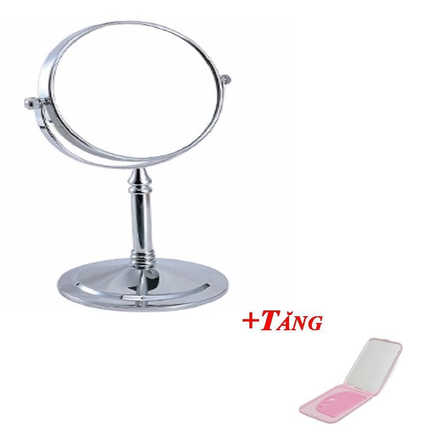 Gương trang điểm để bàn 2 mặt loại nhỏ tặng bộ gương lược mini - 2509278 , 636863234 , 322_636863234 , 100000 , Guong-trang-diem-de-ban-2-mat-loai-nho-tang-bo-guong-luoc-mini-322_636863234 , shopee.vn , Gương trang điểm để bàn 2 mặt loại nhỏ tặng bộ gương lược mini