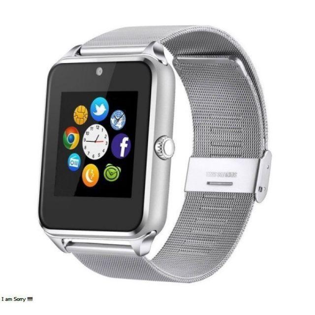 Đồng hồ thông minh Z60S Tiếng việt, dây kim loại sang trọng