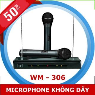 Micro không dây hát karaoke WM - 307