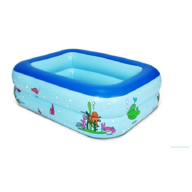 Bể Bơi 2 Tầng Hình Vuông Cho Bé - ĐHS 5588