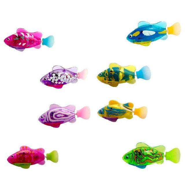 Cá điện tử tự bơi phát sáng trong nước