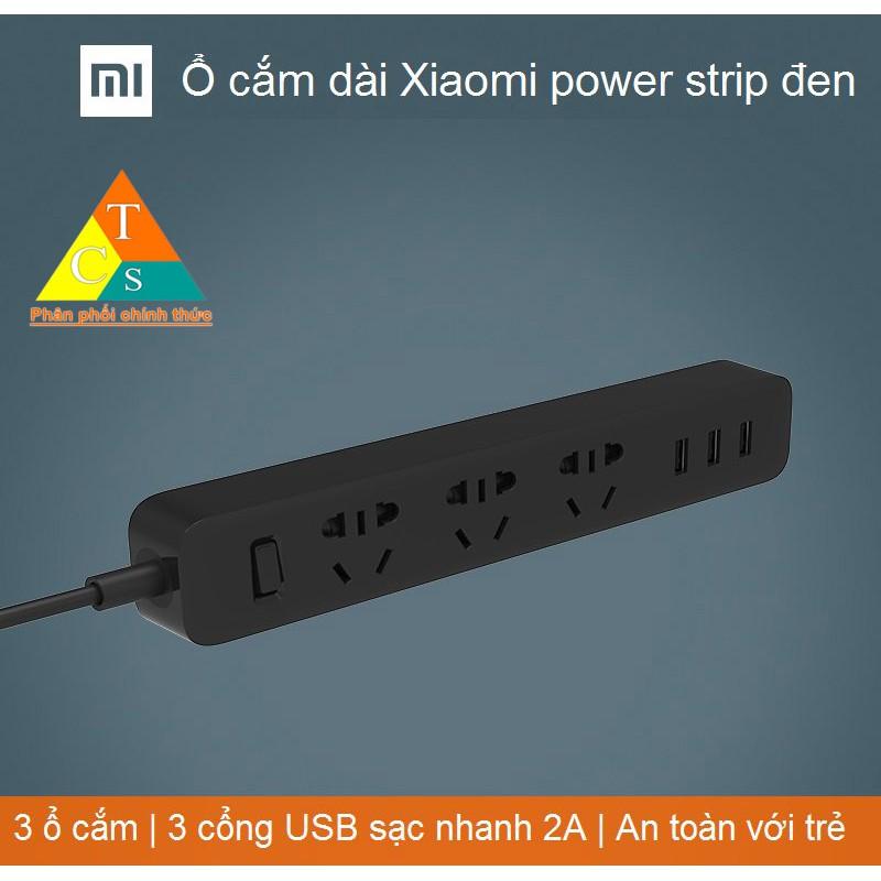 Ổ điện Xiaomi Mi Power Strip Đen .