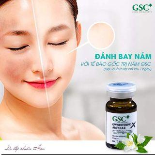 CHÍNH HÃNG HÀNG CHÍNH HẪNG Tế bào gốc trị nám, trắng da Hàn Quốc GV WHITENING AMPOULE