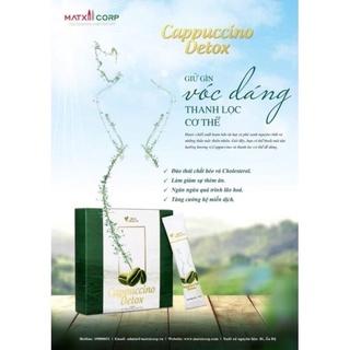 Cà Phê Kháng Mỡ - Giảm Cân Cappuccino Detox - Chính hãng Matxicorp thumbnail