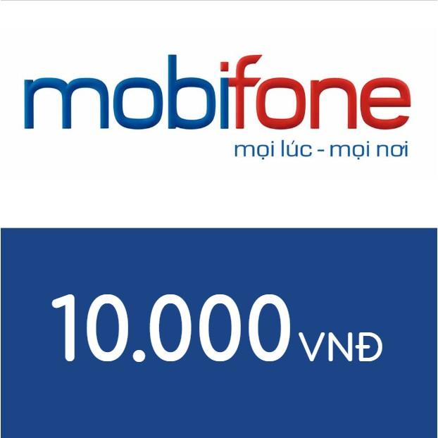 Mã thẻ điện thoại Mobifone 10K