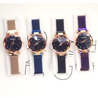 Đồng hồ thời trang nữ GoGoey dây kim loại sắc sảo Sr4792