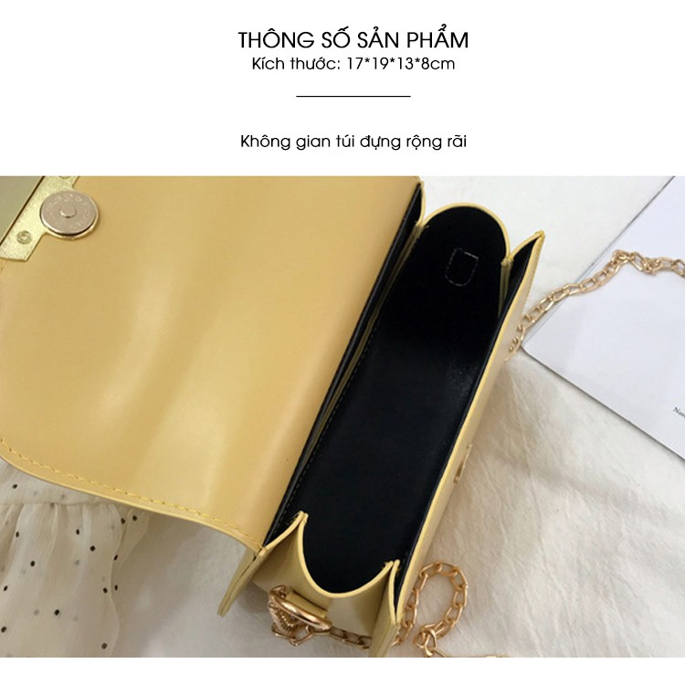 Túi nữ đeo chéo hình bán nguyệt phong cách Hàn Quốc C613