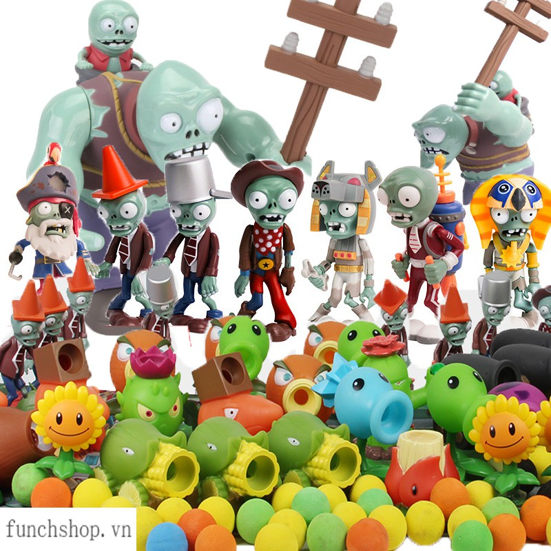 Mô hình nhân vật trong trò chơi Plants VS Zombies