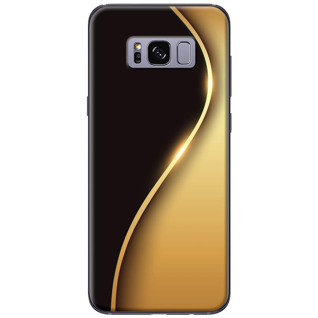 Ốp lưng Samsung S8/S8 plus Đường cong vàng