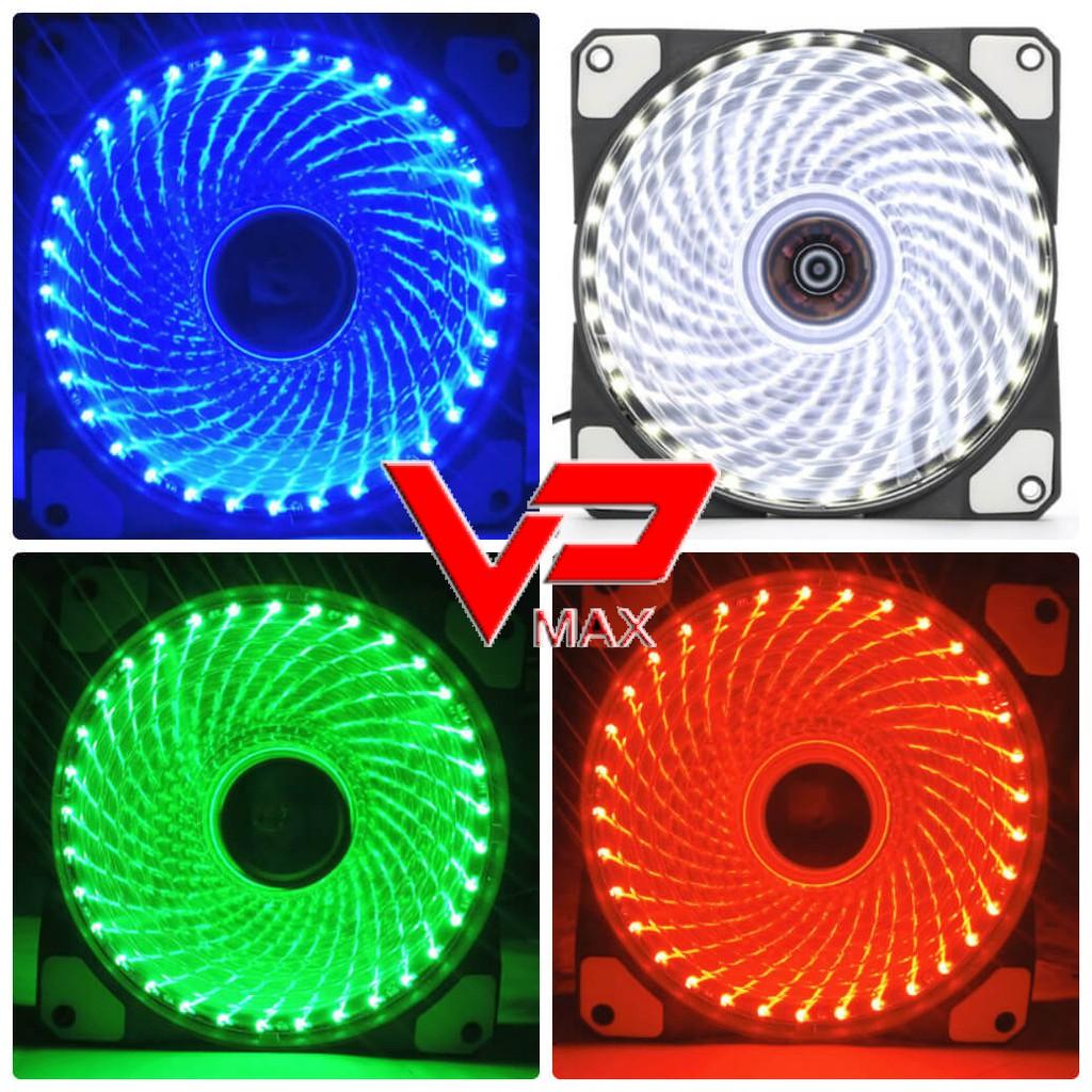 Combo 10 Fan LED nhiều màu kèm ốc
