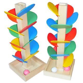 bộ đồ chơi tháp bóng bằng gỗ