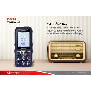 Điện Thoại Masstel Play 50 Loa khủng – Pin siêu khủng 3000mah sản phẩm mới – bảo hành hãng 12 thang.