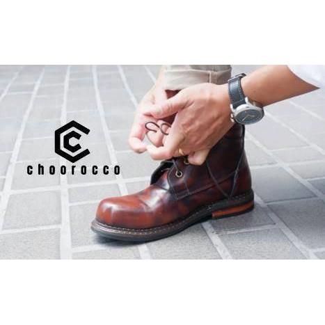 รองเท้าหนังแท้ Choorocco รุ่น Ankle Boots รองเท้าบูธข้อสูง