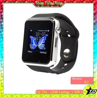Đồng hồ thông mình A1 lắp sim nghe gọi như điện thoại , màn hình cảm ứng màu hỗ trợ thẻ nhớ TF có camera
