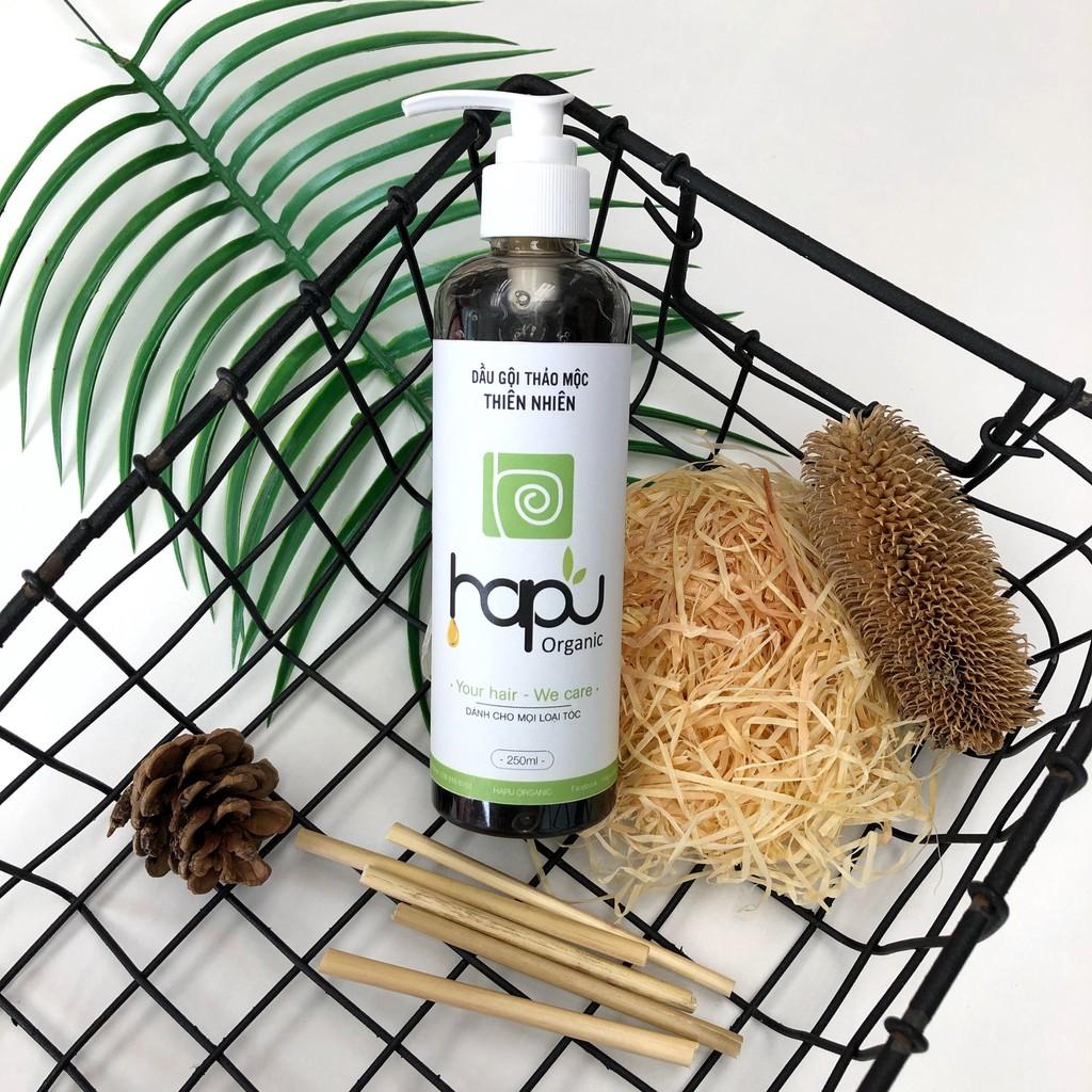 Dầu gội thảo mộc trị rụng tóc HaPu Organic 250ml