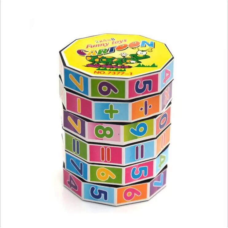 Rubic tập tính toán học cho bé kt 5 x 7cm