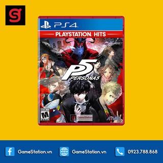 Đĩa Game PS4 Persona 5 PlayStation Hits - hệ US thumbnail