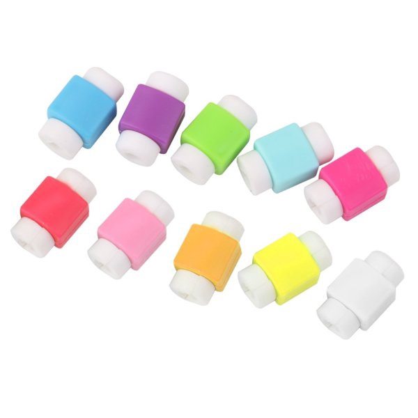 10 Pcs Protector Saver Cover for iPhone iPad USB Charger Cable Cord