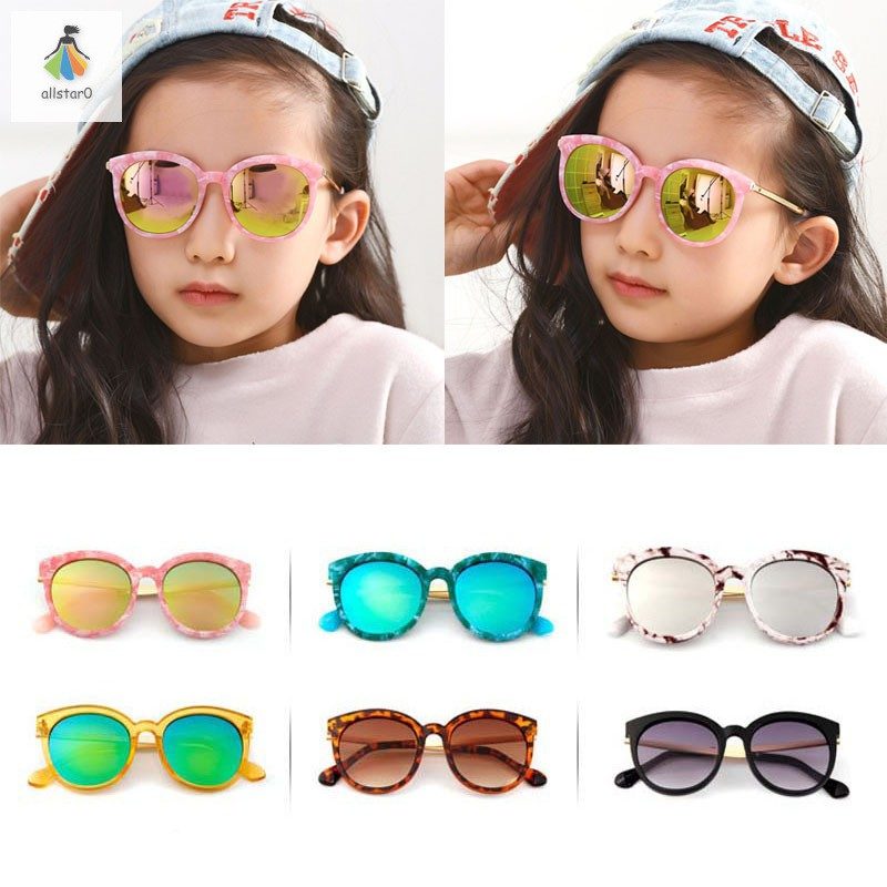 Children UV Protecting Sunglasses Light Weight Goggles for Travel Sports Beach