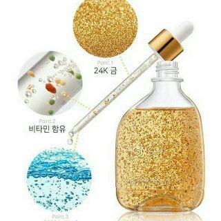 100ml Tinh Chất Vàng Non Hongik Skin 24K Gold Vita Ampoule Ha n Quô c thumbnail