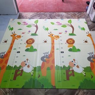 (Xả kho) Thảm xốp XPE gấp gọn trải sàn cỡ 1m8x2m