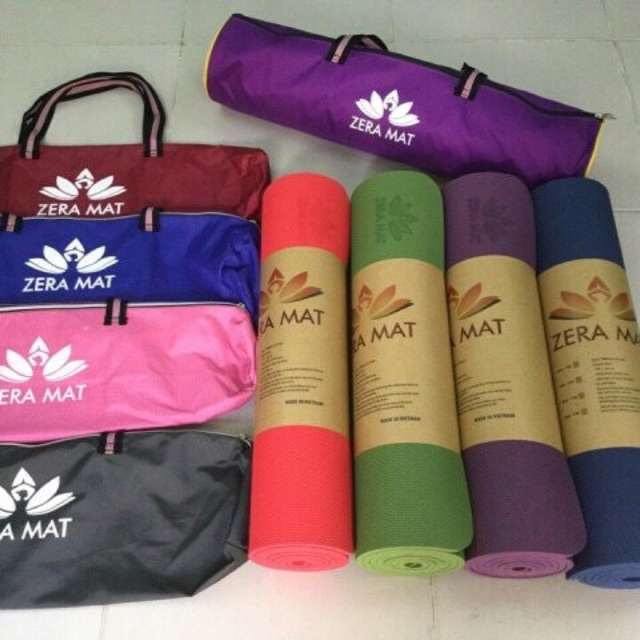 Thảm tập yoga TPE Zera loại cao cấp 8mm