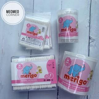 [Mã MKBCSALE1 giảm 8% đơn 250K] Tăm bông tiệt trùng Merigo cho bé