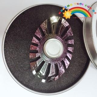 hand spinner hộp sắt tròn đa sắc