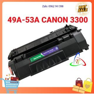 Hộp mực máy in 49A/53A cho máy in HP1160 1320 2015 Canon3300