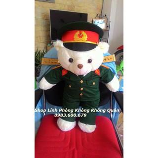 Gấu Bông Bộ Đội Lục Quân 70 cm