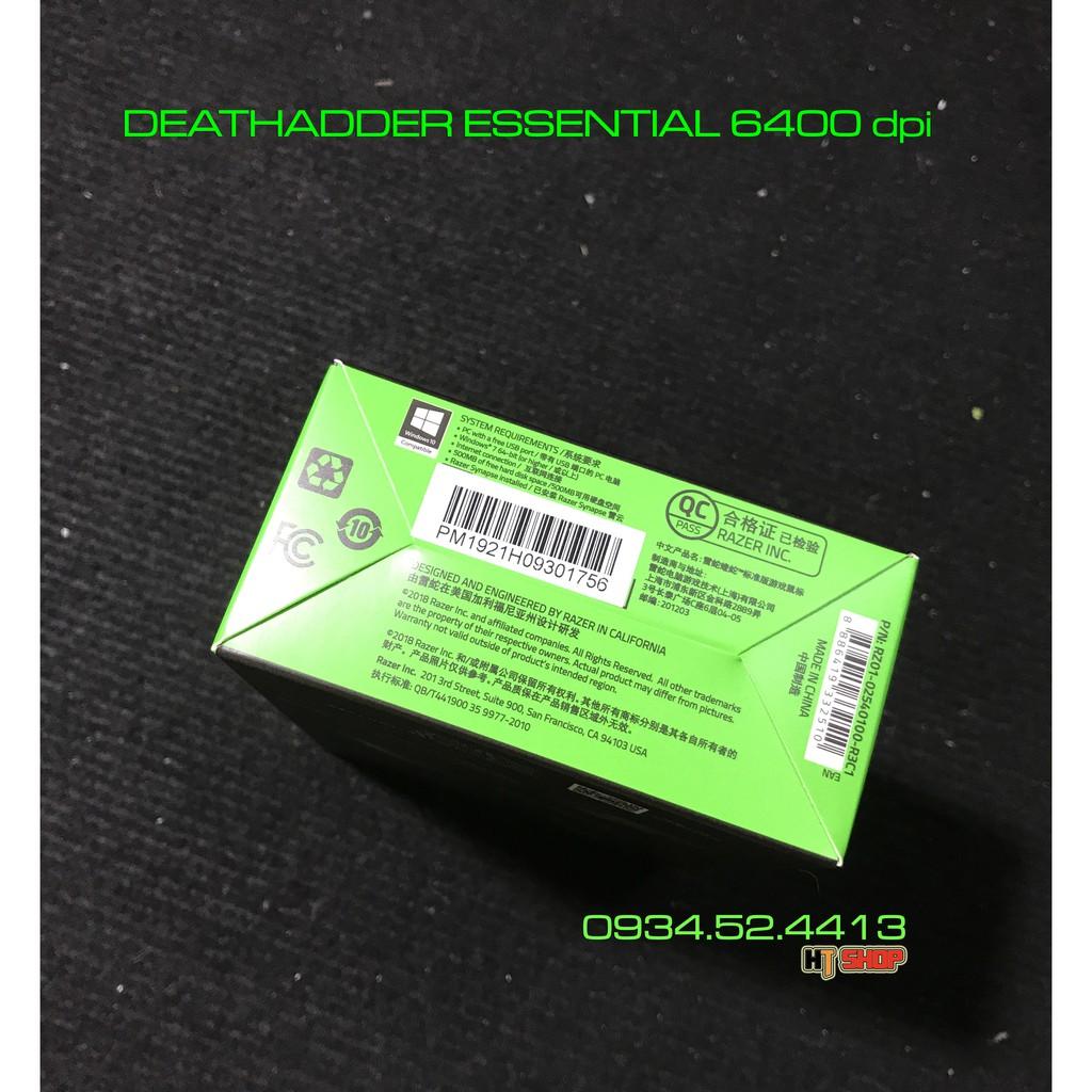 [Mã 267ELSALE hoàn 7% đơn 300K] Chuột Razer DeathAdder Essential 4G 6400 dpi