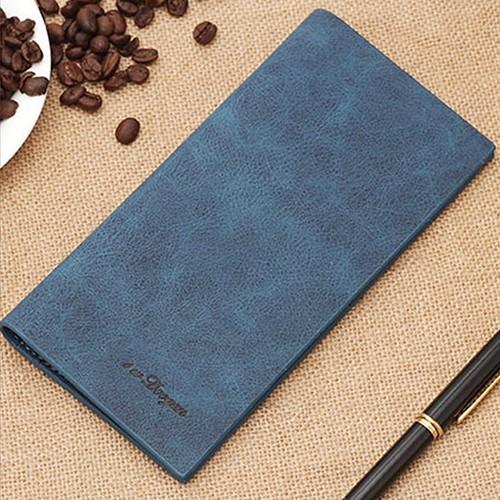 Bóp ví nam dài da PU phong cách Hàn Quốc XIMO VND02 (Nhiều màu)