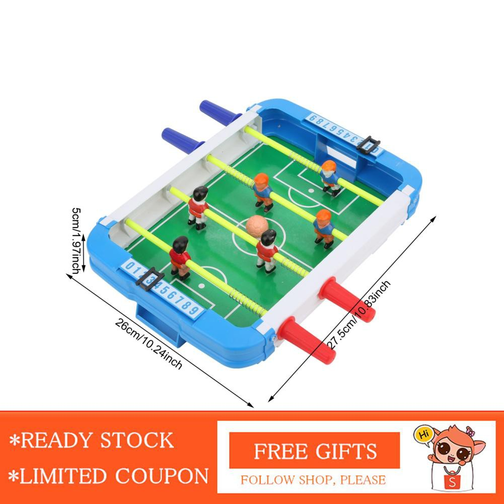 Nearbeauty mmuehri Eco-friendly ABS Children Puzzle Portable Mini Table Football Machine Parent-Child Interactive Desktop Game Toy