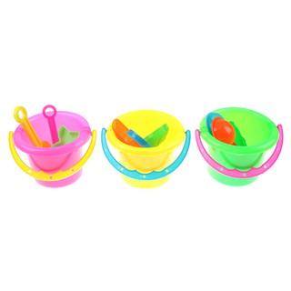 SUN11❤❤ 4pcs Tiny Beach Sand Shovel Tool Toys Play sand Bucket For Kids
