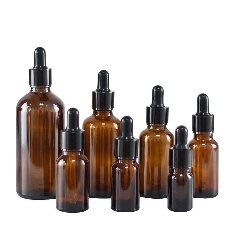 [30ml] Chai lọ đựng tinh dầu bóp giọt khoen đen / chai lọ chiết mỹ phẩm