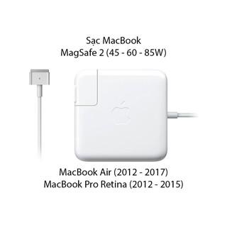 Sạc Macbook Air 45w 65w magsafe 2 (EARLY 2012 MID 2015) thumbnail