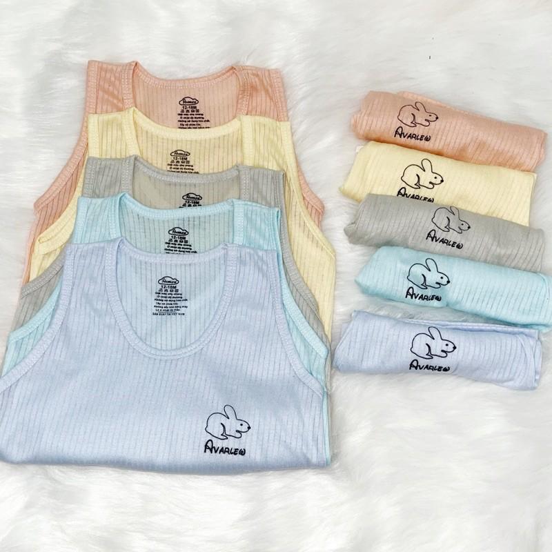 Mặc gì đẹp: Gọn tiện với Bộ ba lỗ sợi tre cotton hãng Noubaby mềm mịn, quần áo sát nách mát mẻ cho bé từ 5 đến 15kg - Đồ bộ mặc ở nhà - Riokids