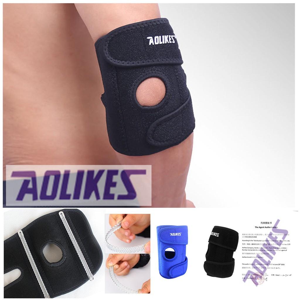 BÁN SỈ - Aolikes AL 7946 (1 cái) ĐỆM HƠI BẢO VỆ KHUỶU TAY THÔNG HƠI chống trượt chuyên gym