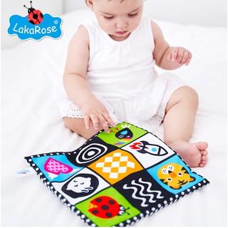 tranh vải phát triển cảm quan cho bé