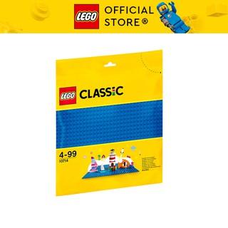 LEGO CLASSIC 10714 Đế Lắp Ráp Màu Xanh Nước Biển ( 1 Chi tiết) Đồ chơi lắp ráp sáng tạo